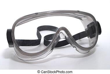 químico, gafas de protección