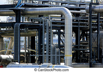 químico, indústria, industrial