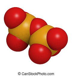 químico, molécula, pyrophosphate, estrutura
