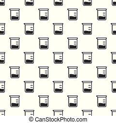 químico, padrão, jarro, seamless