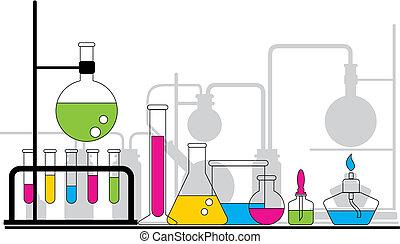 químico, testar
