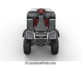 Quad bike - black with red details