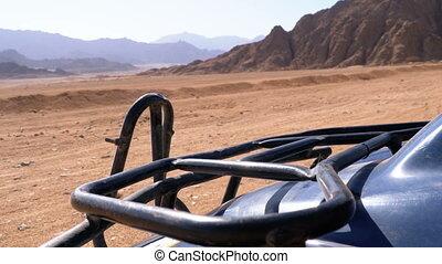 Quad Bike in the Desert of Egypt - Quad Bike in the Desert....