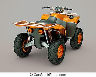 Quad bike