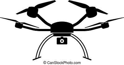 Quad copter icon