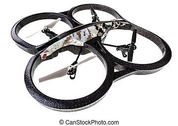 Quad rotor Surveillance drone - a quad copter spy drone...