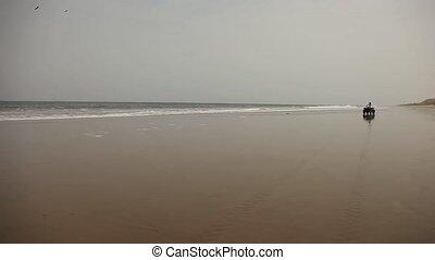 Quad Trip At Beach