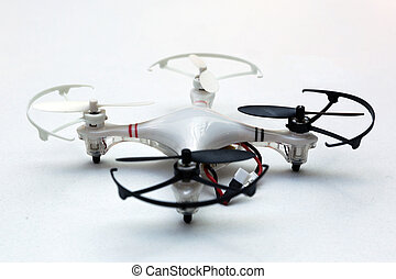 Quadcopter - a flying drone