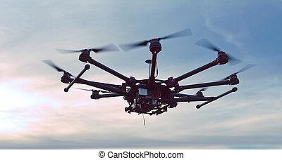 quadcopter, copter, bourdon