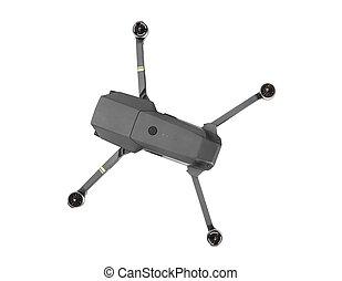 Quadcopter drone with camera
