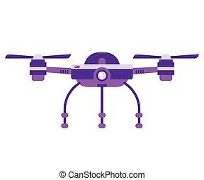 quadcopter, jednorazowy, aparat fotograficzny, truteń