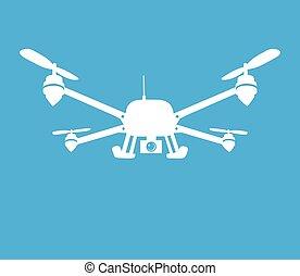 quadcopter, symbol