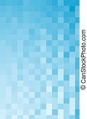 quadrado azul, fundo
