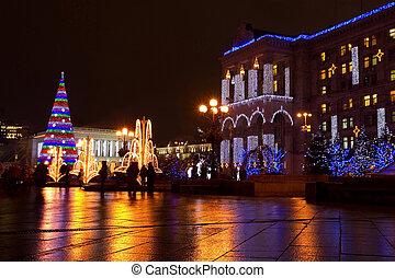 quadrado, kiev, independência