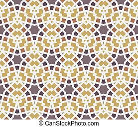 quadrados, padrão, (seamless), linhas, estrelas
