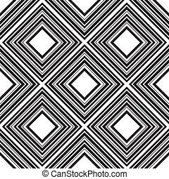 quadrados, padrão, vetorial, seamless, ilustração