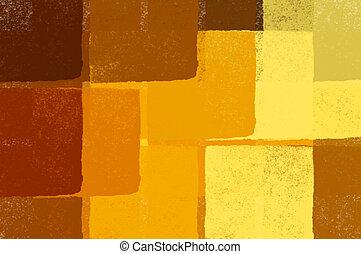 quadrados, papel parede