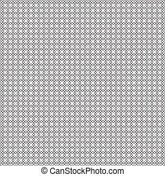 quadrados, pretas, seamless, cerca
