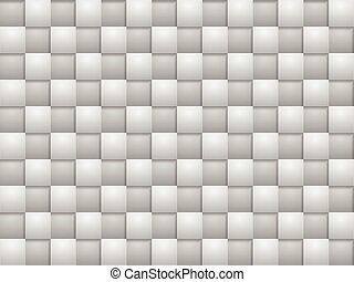 quadrat, blöcke, grau