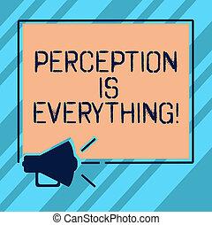 quadrat, foto, photo., zeichen, identifizieren, leer, lautsprecher, raum, wie, text, begrifflich, megaphon, wir, wahrnehmung, ausstellung, ausfall, everything., unterschied, skizzen, ikone, klingen, niederlage, marken, oder