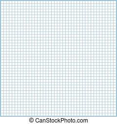 Quadrat, blatt, papier, design, hintergrund, druck, liniert, oder ...