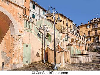 quadrat, italien, castrocaro, terme