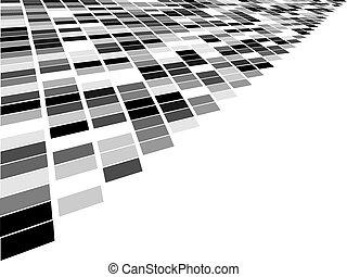 quadrat, mosaik