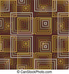 quadrate, retro
