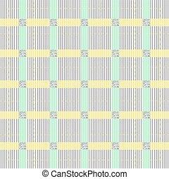 quadrato, colorito, modello, grigio, seamless, striscia, fondo, brillare, argento