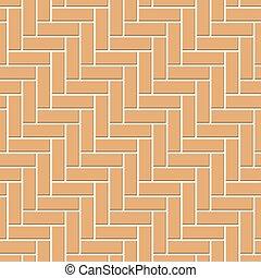 quadrato, concreto, blocks., seamless, strada, geometrico, struttura, astratto, rettangolo, disegno, pattern., ciottolo, bagno, arancia, decorazione, vettore, lastricatore, mosaico, vista, cima, pavement., illustrazione