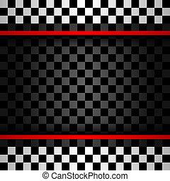 quadrato, da corsa, fondale