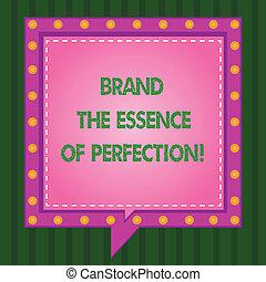quadrato, foto, linea, certificato, brevetto, scrittura, nota, altro, discorso, essenza, esposizione, buono, affari, marca, rotto, servizi, circles., bolle, dentro, perfection., eccellenza, showcasing