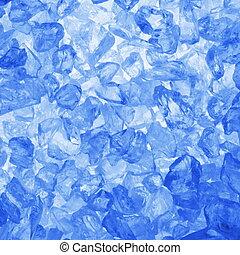 quadrato, ghiaccio, fondo