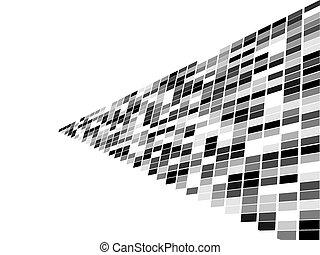 quadrato, mosaico
