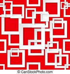 quadrato, seamless, struttura