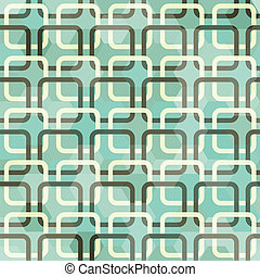 quadrato, verde, seamless