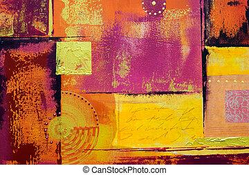 quadro, abstratos