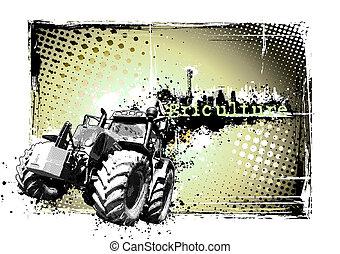 quadro, agricultura