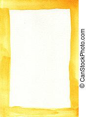 quadro, amarela