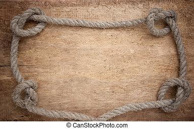quadro, de, corda