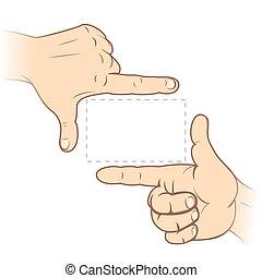 quadro, dedo