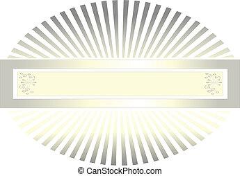 quadro, dourado, tons, luz