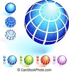 quadro, fio, globo, cobrança