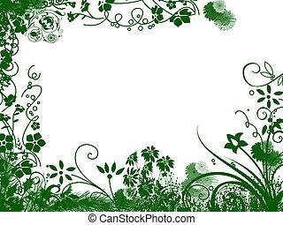 quadro, flor
