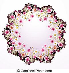 quadro, flores