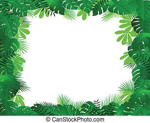 quadro, floresta