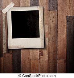 quadro fotografia, madeira, vara