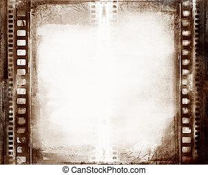 quadro, grunge, película