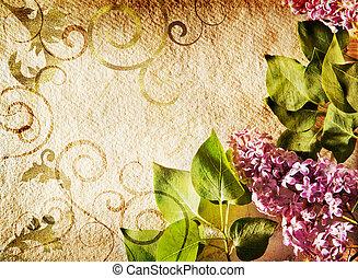 quadro, lilás