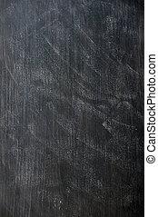 quadro-negro, emporcalhado, fundo